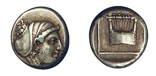 Ancient Greek Coins, Lesbos, M