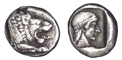 Ancient Greek Coins, Caria, Kn