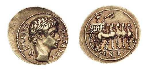 Augustus (27 B.C.-A.D.14), Aur