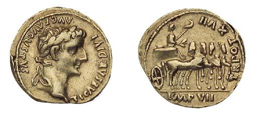Tiberius (A.D. 14-37), Aureus,
