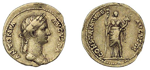 Antonia, mother of Claudius (+