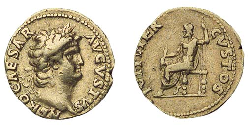 Nero (A.D. 54-68), Aureus, 7.2