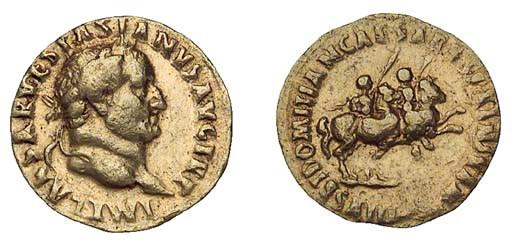 Vespasian (A.D. 69-79), Aureus
