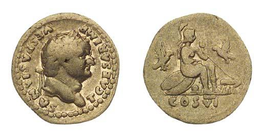 Titus (Caesar A.D. 69-79), Aur