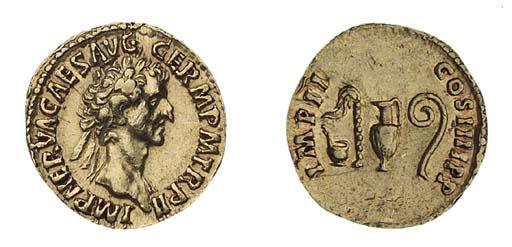 Nerva (A.D. 96-98), Aureus, 7.