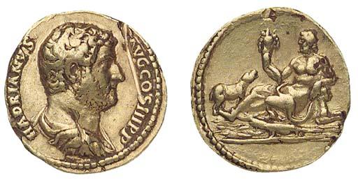 Hadrian (A.D. 117-138), Aureus