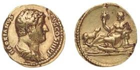 Hadrian (A.D. 117-138), Aureus, 7.28g., 134/8, laureate, dra