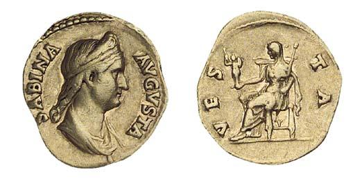 Sabina (wife of Hadrian), Aure