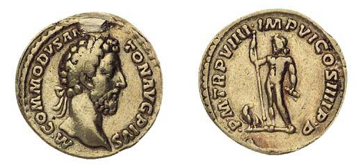 Commodus (A.D. 180-192), Aureu