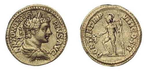 Caracalla (A.D. 198-217), Aure
