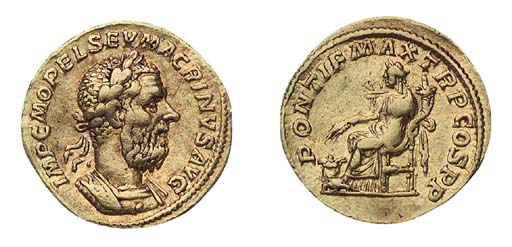 Macrinus (A.D. 217-218), Aureu