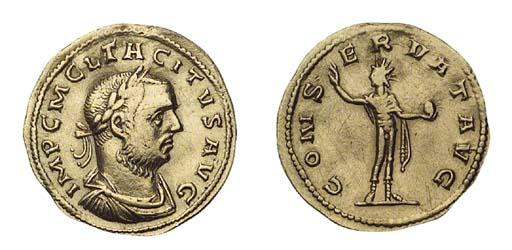 Tacitus (A.D. 275-276), Aureus