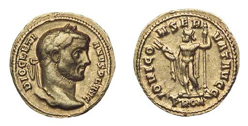 Doicletian (A.D. 284-305), Aur