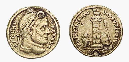 Licinius I (A.D. 308-324), Sol
