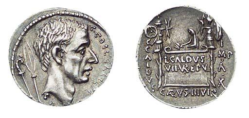 C Coelius Caldus (51 B.C.), he