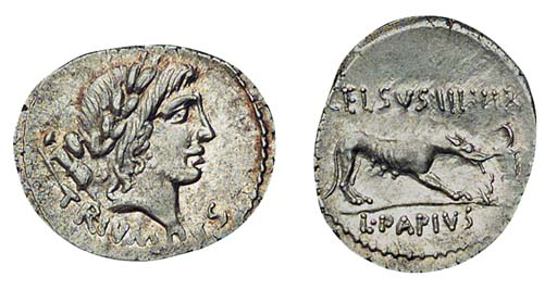 Roman Republic, L Papius Celsu