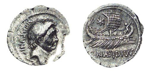 Roman Republic, Q Nasidius (44
