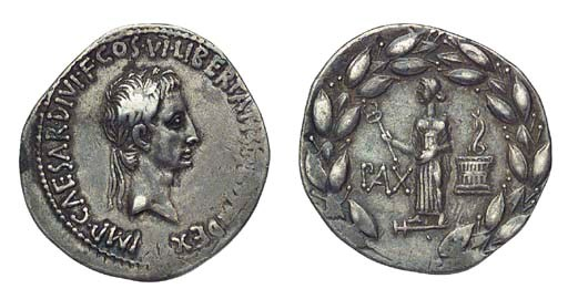 Roman Republic, Augustus, AR C