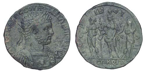 Roman Republic, Caracalla, Æ M