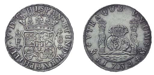 Pillar Dollar, 1739 MF (Cy.878