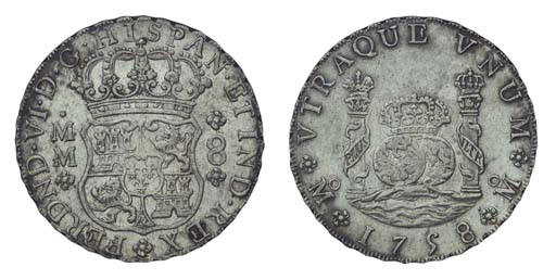 Pillar Dollar, 1758 MM (Cy.989