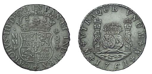Pillar Dollar, 1761 MM (Cy.111