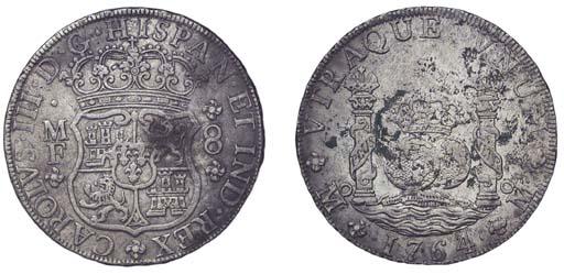 Pillar Dollar, 1764 MF (Cy.111