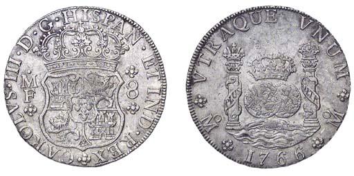 Pillar Dollar, 1766 MF (Cy.111