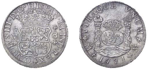 Pillar Dollar, 1771 FM (Cy.112