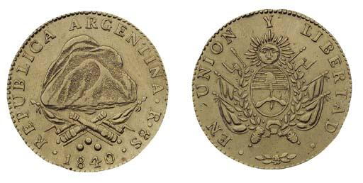 Foreign Coins, Argentina, 8-Es