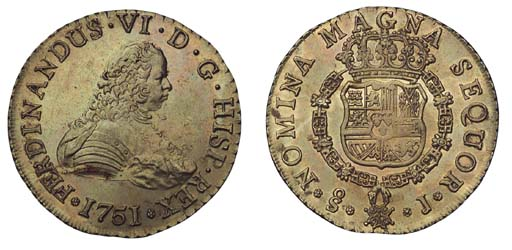 Foreign Coins, Chile, Fernando
