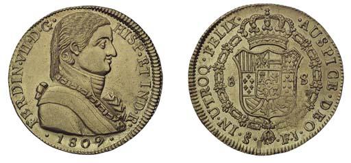 Foreign Coins, Fernando VII (1