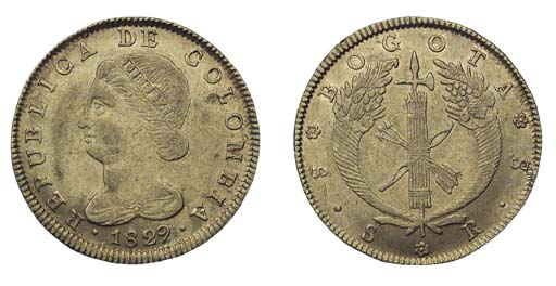 Foreign Coins, Colombia, Repub