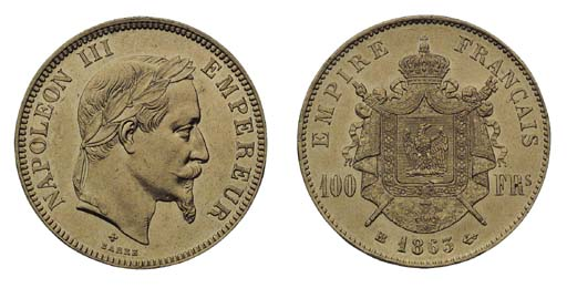 Foreign Coins, France, Napoleo