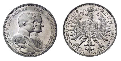 Foreign Coins, Saxe-Weimar-Eis