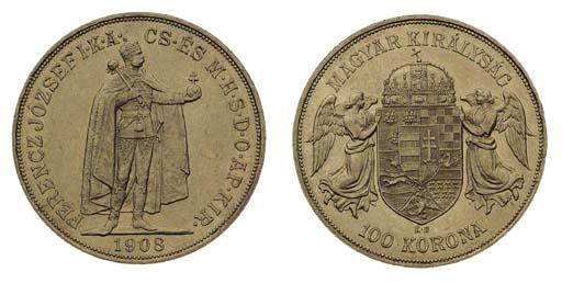Foreign Coins, Hungary, Franz