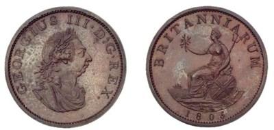 George III, Restrike Pattern H