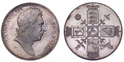 George III, Pattern Crown, und