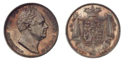 William IV (1830-37), proof Ha