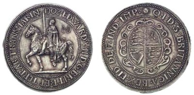 Edward VII, Pattern Crown, 190