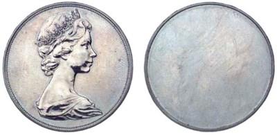 Elizabeth II, obverse Pattern