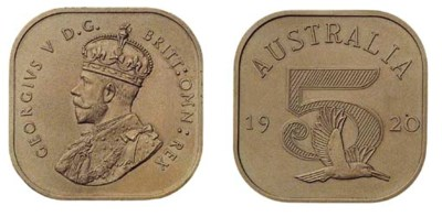 Australia, George V, unofficia