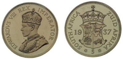 South Africa, Edward VIII, uno