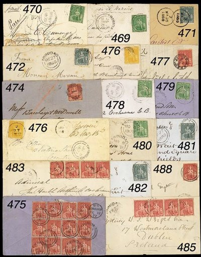 cover 1878 (9 Oct.) envelope t