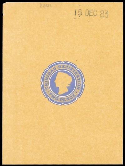 essay  1884 2d. handpainted in