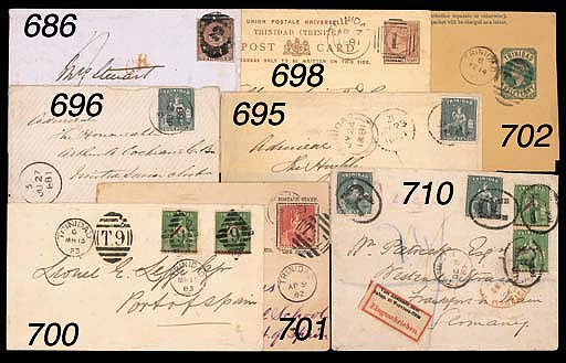 """cover -- 1851 (1d.) purple-brown with good to large margins, tied by a fine strike on 1851 (11 Sept.) envelope to Scotland showing unframed """"CR"""" in red with, on reverse, despatch and arrival (9.10) datestamps. Photo"""