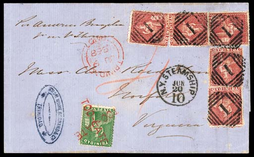 cover 1868 (9 June) entire to