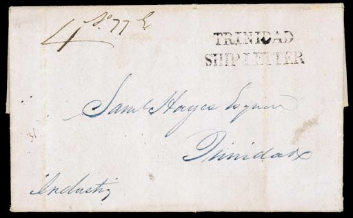 cover 1848 (19 Apr.) entire le