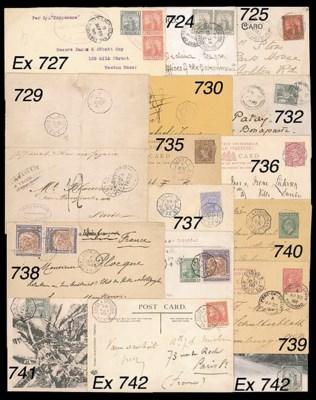 cover 1910 envelope to USA bea