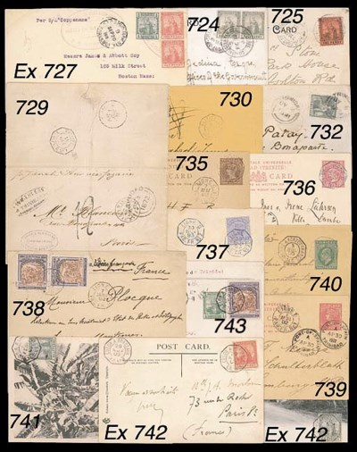 cover 1905 (3 July) ½d. statio
